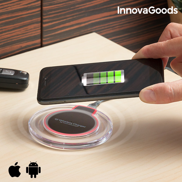 InnovaGoods Qi Wireless Charger for Smartphones|Tablet Chargers| |  - title=