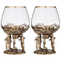 Set of 2 glasses for Cognac oil 450 ml
