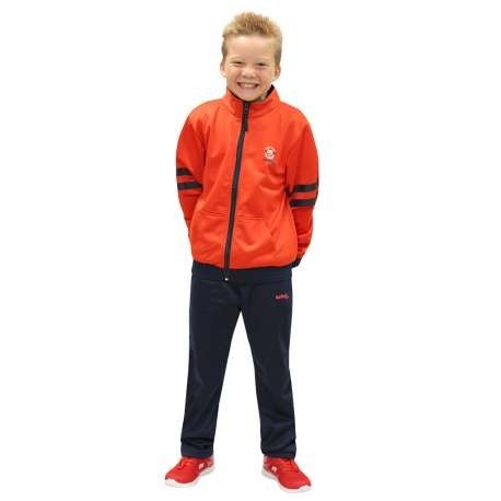 CHANDAL SOFTEE WEST POINT INFANTIL - 10 AÑOS - COLOR ROJO Y MARINO
