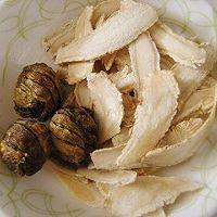 西洋参石斛炖瘦肉的做法图解2