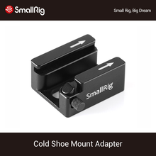 SmallRig Cold Shoe Mount Adapter with Anti-off Button For Universal Cage/Handle/Plate With 1/4'-20 Threaded Holes-2260