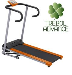Treadmill and run electric treadmill fitness with motor folding panel and security system 1 HP