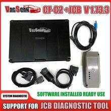 CF-C2 Toughbook DLA JCB elektroniczne narzędzie serwisowe DLA JCB ServiceMaster koparka rolniczy skaner diagnostyczny
