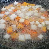 咖喱豆腐素什锦的做法图解3