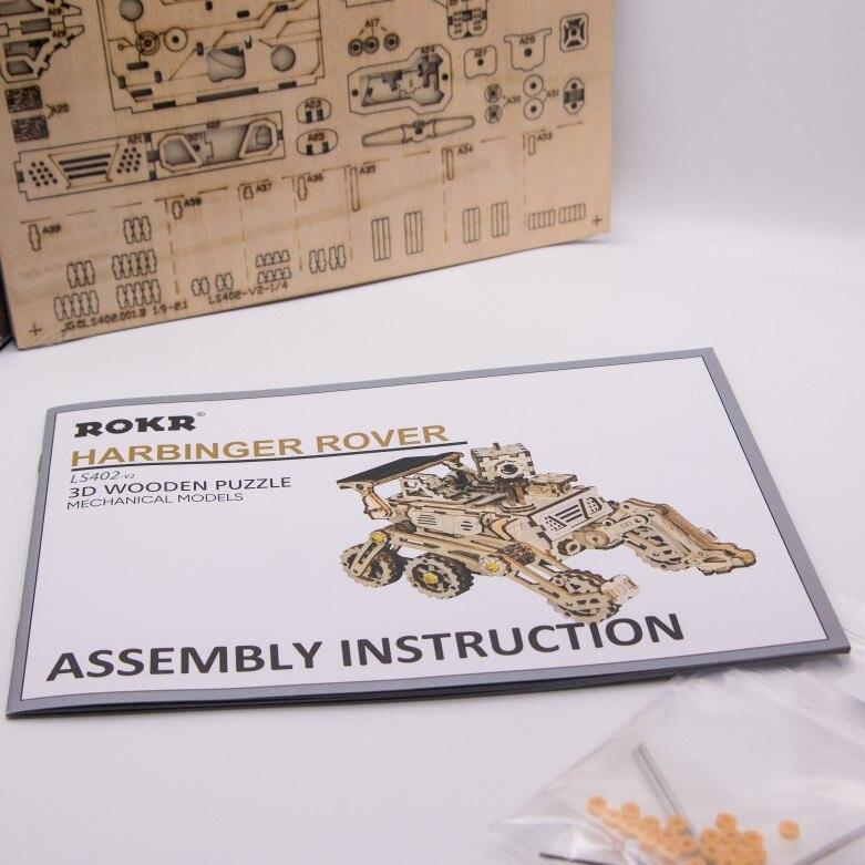 Puzzle Véhicule Solaire – Explorateur – 3D en bois photo review