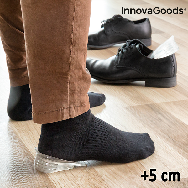 InnovaGoods X5 Cm Height-Boosting Insoles