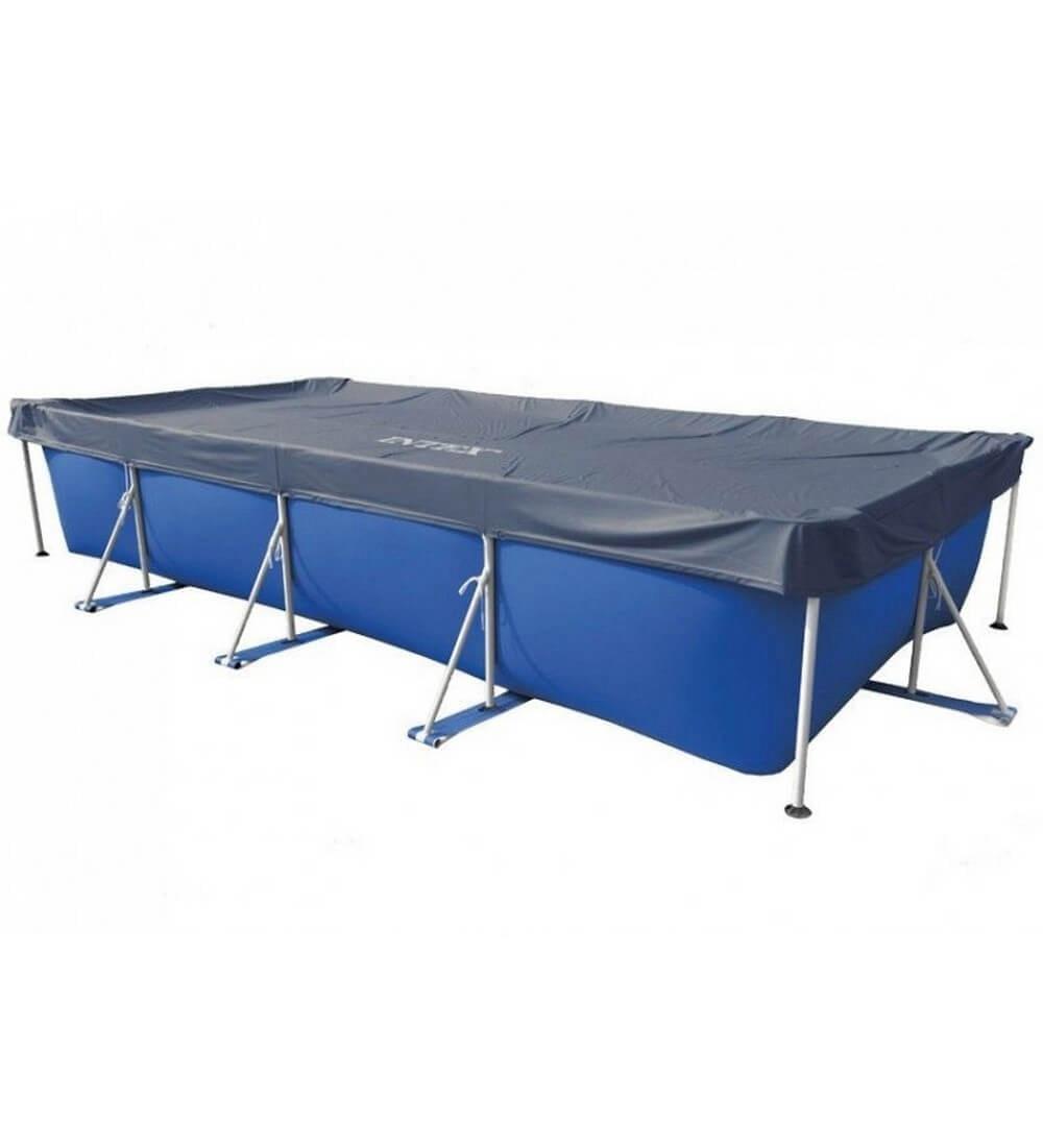 Awning For Frame Rectangular Swimming Protective Tent Blanket Basin дачного Summer 450x220 Cm, Intex, Item No. 28039
