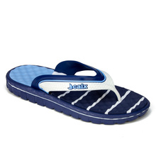 Men's Summer Slippers Flip Flops Blue White Massage Sole Sea Beach Pool Casual and Stylish Cool Style Turkish Goods Trend fashion 2021