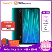 Global Version Xiaomi Redmi Note 8 PRO 128GB ROM 6GB RAM (LATEST ARRIVAL!!), note8 pro Smartphone Mobile