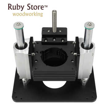 Heavy Duty Router Lift with Aluminium Router Insert Plate - DISCOUNT ITEM  0% OFF All Category