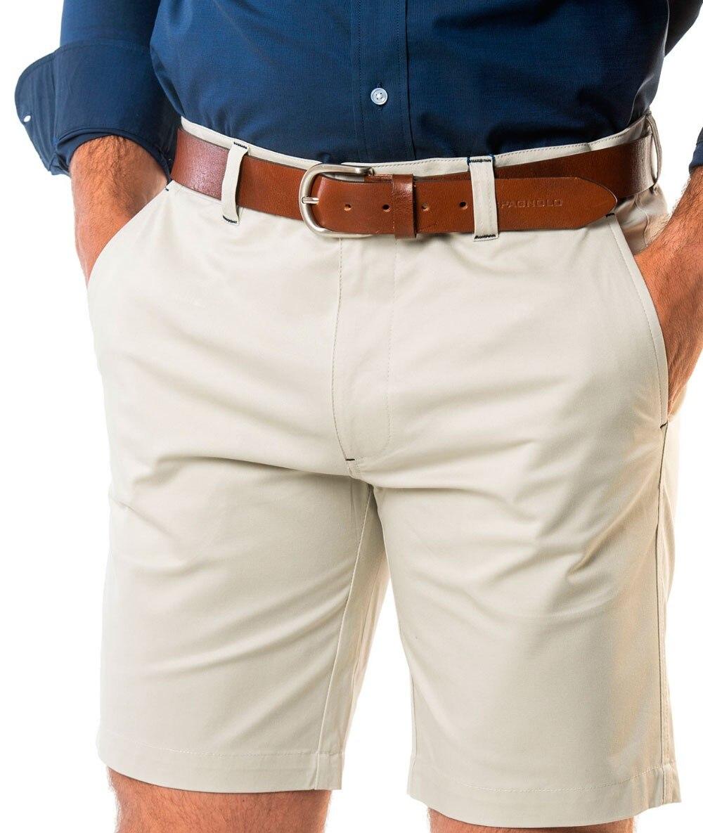 BERMUDA SPAGNOLO Gabardina Mens Shorts Cargo Beige Menswear Summer 2020