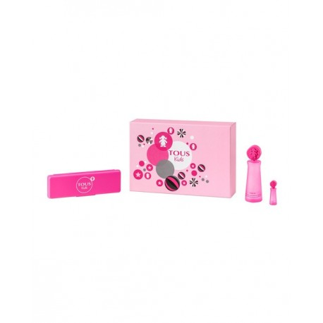 TOUS GIRL SCHOOL KIDS SET 90ML EDT + EDT + PENCIL CASE 4ML