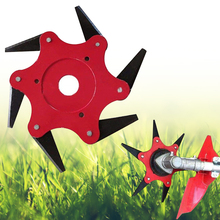 цена на High Hardness 3/4/5/6 Teeth Blade Trimmer Head 65Mn Brush Cutter Blade for Lawnmower Grass Sharper Mowers Garden Tools Durable