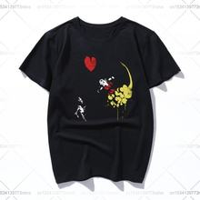 Хлопковая летняя свободная Мужская футболка dragon ballnksy