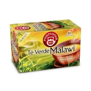 Multinational green tea Malawi, 20 bags Pompadour