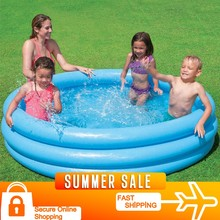 Kristal Blue Children's Pool Pool 168x38 cm