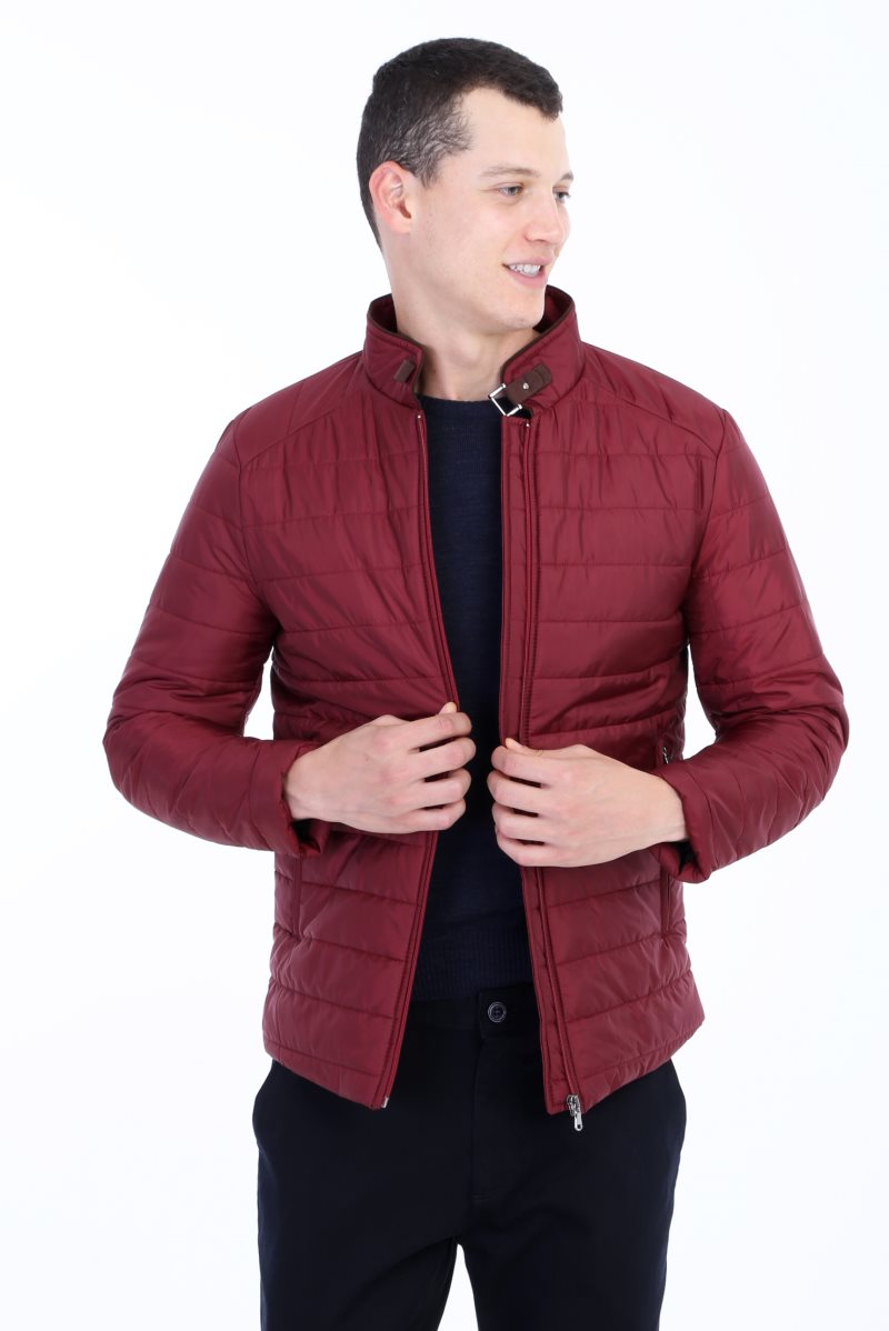Coats Kigili Made-In-Turkey Menswear Autumn-Winter High-Quality Casual Warm QUILTED Slim-Fit title=
