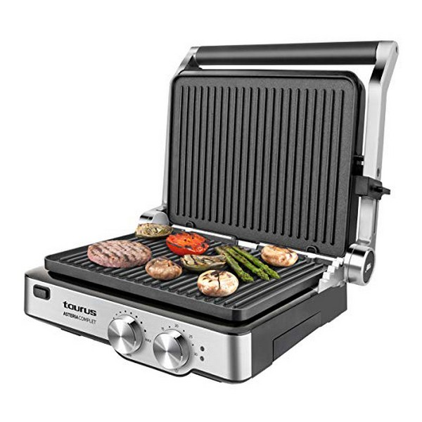 Contact Grill Taurus Asteria Complet 2000W Stainless Steel