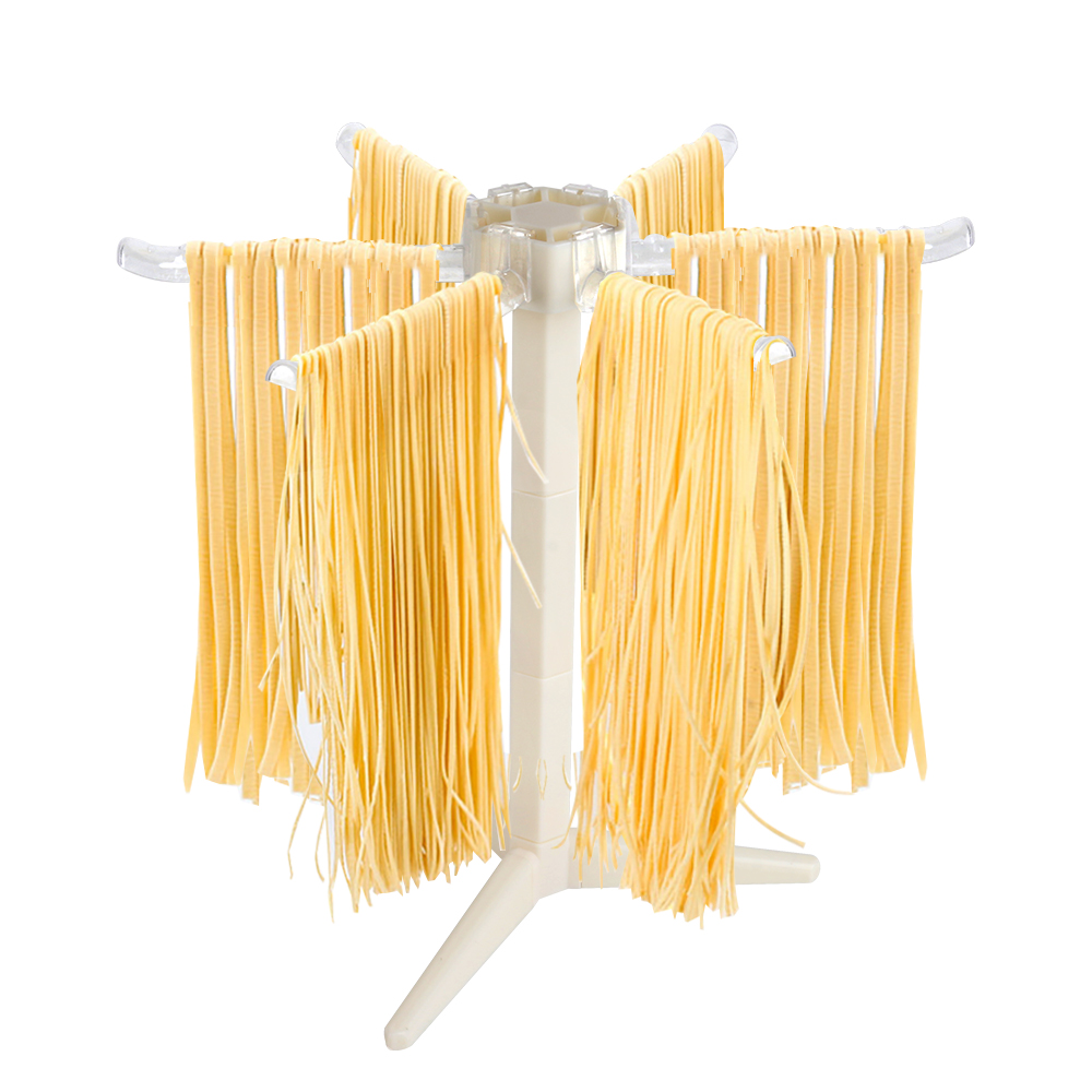 Collapsible Pasta Drying Rack Cooking Tools Spaghetti Dryer Stand Noodles Drying Holder Hanging Rack Pasta Kitchen Accessories image