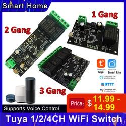 4CH/2CH/1CH USB WiFi переключатель беспроводной модуль Функция синхронизации удаленный переключатель приложение дистанционное управление совмест...