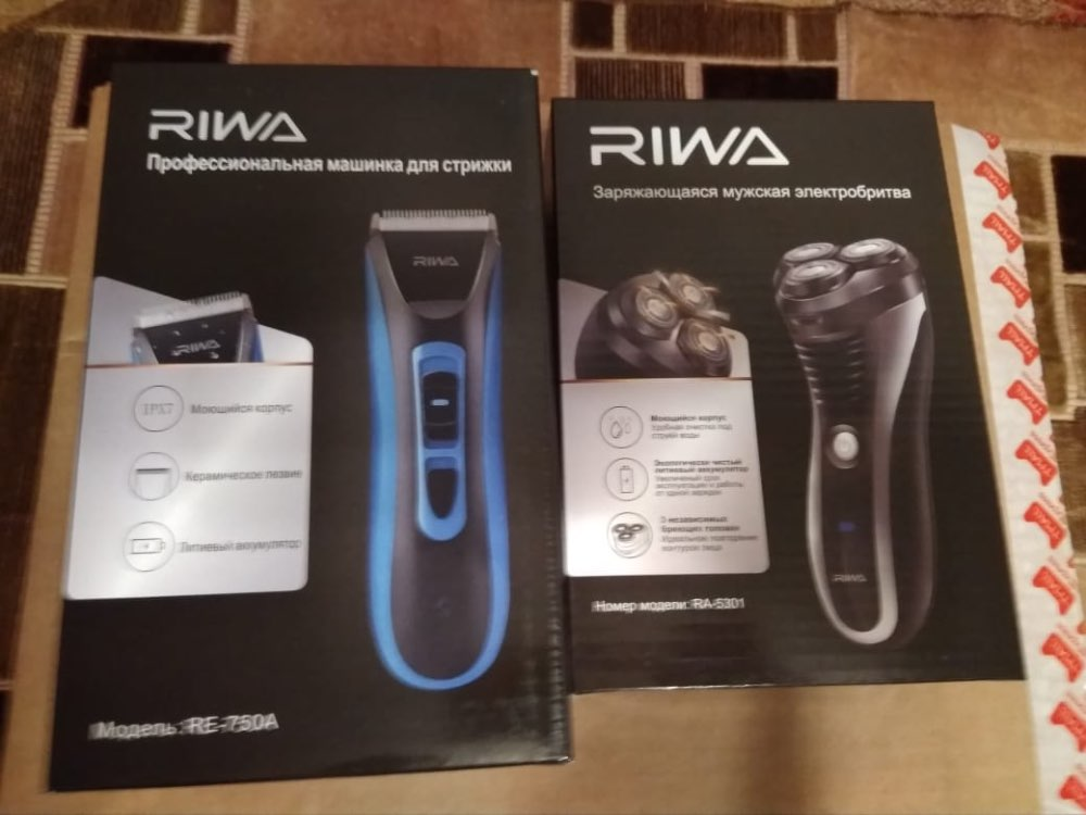 RIWA Rechargeable USB Shaver Three Blades Hair Razor Electric Shave Machine Electric Washable Trimmer For Beard Shaver RA 5301-in Electric Shavers from Home Appliances on AliExpress