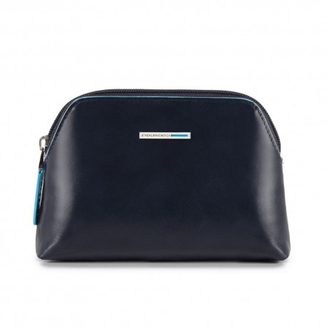 Piquadro - Small Toiletry Bag Blue Square - BY3793B2