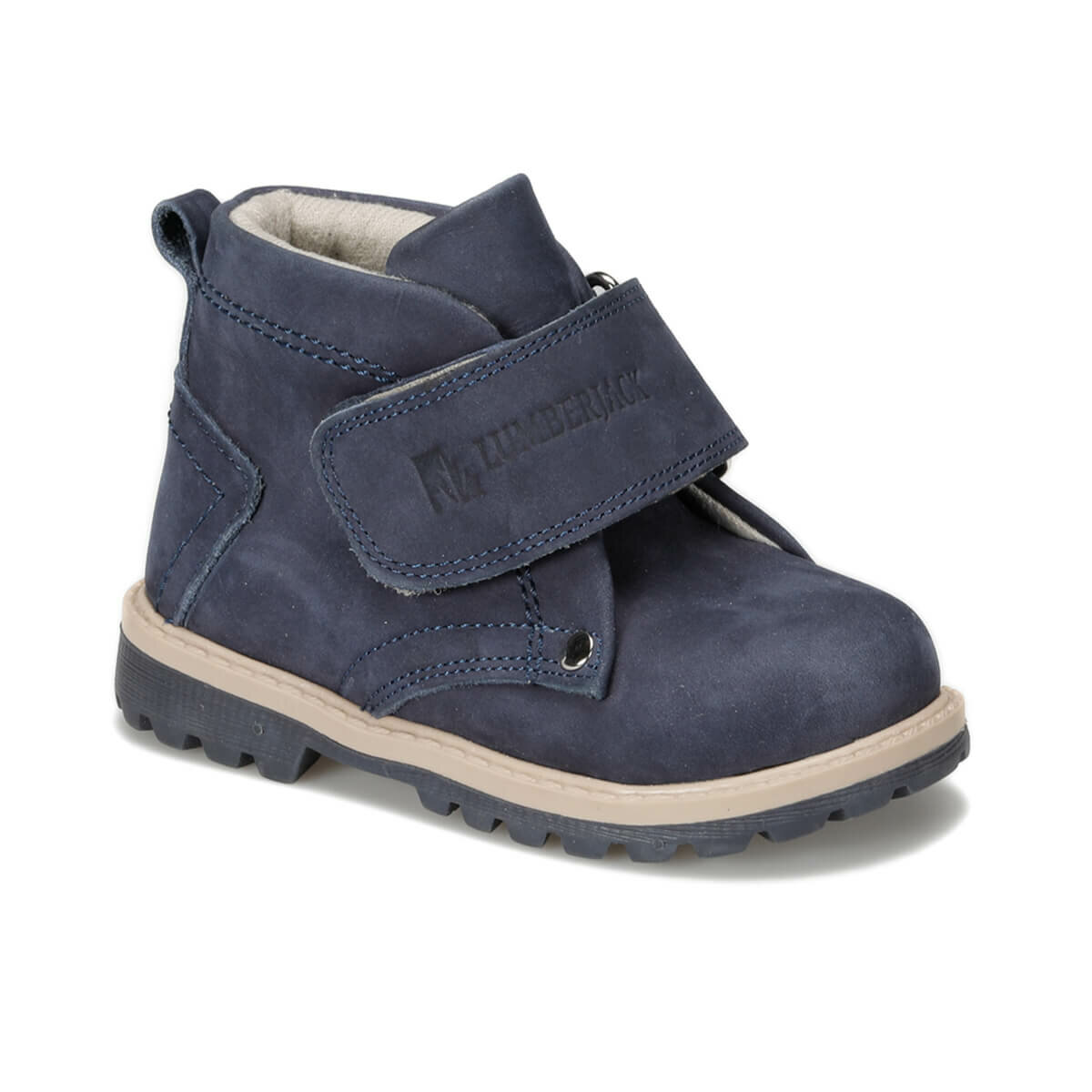 FLO ROCK 9PR Navy Blue Male Child Boots LUMBERJACK