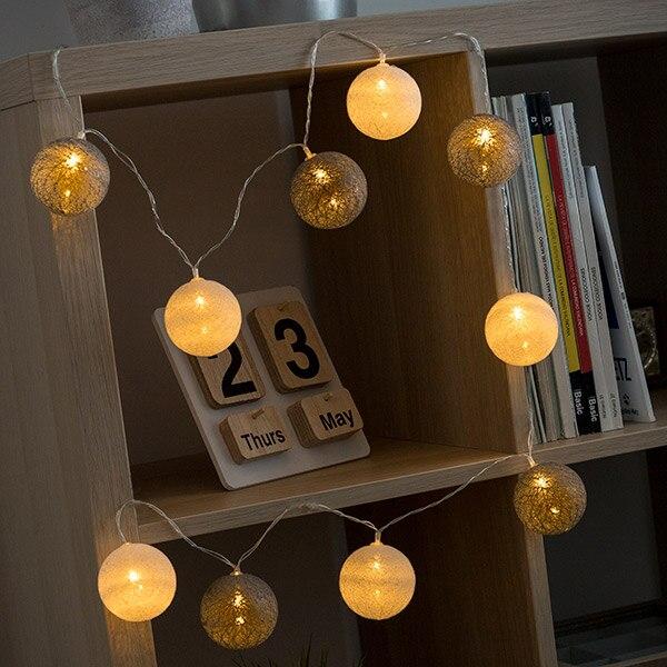Spheres LED Light Garland (10 LEDs)