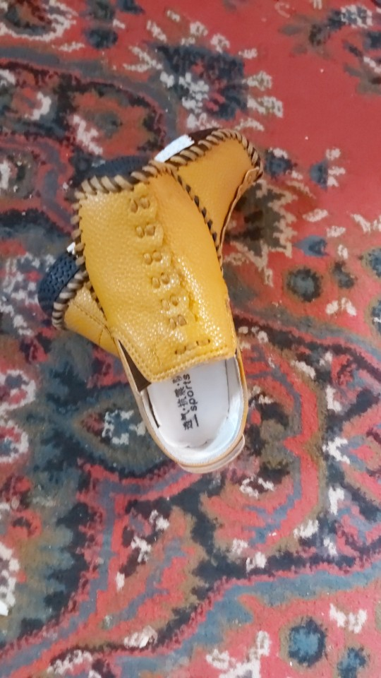 Sapatos de couro Estilo Inglaterra Meninos