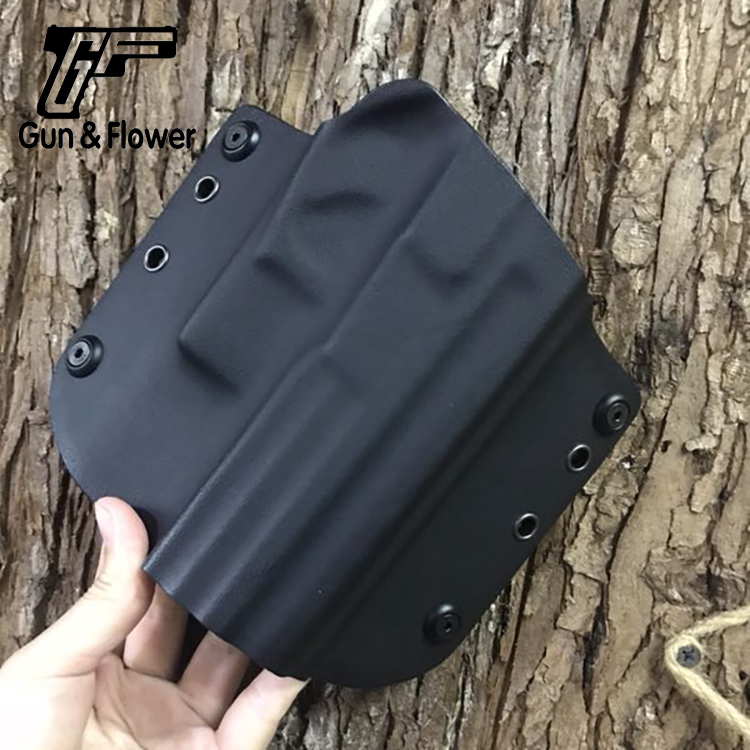 Gunflower Fast Draw Gun Pouch Outside The Waistband Kydex Holster for Sig SP2022