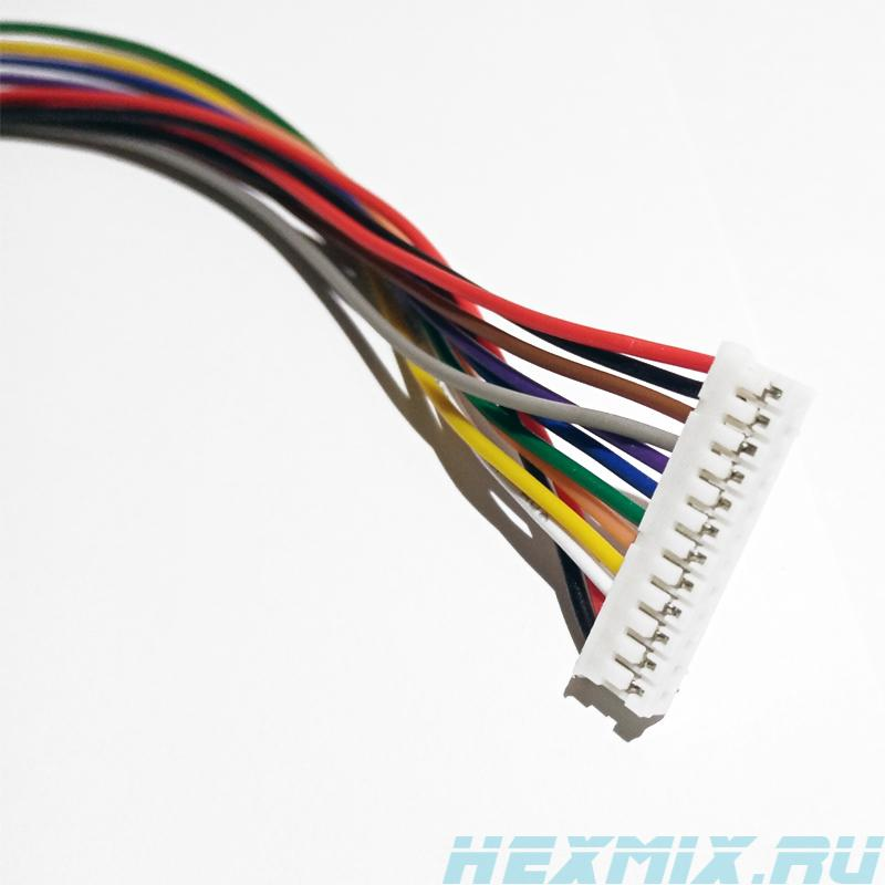 12-wire Cable Ph2.0 12 P 300mm