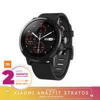 -Garantia Oficial Amazfit En España-Xiaomi Amazfit Stratos 2 Reloj Inteligente Deportivo con GPS Bluetooth