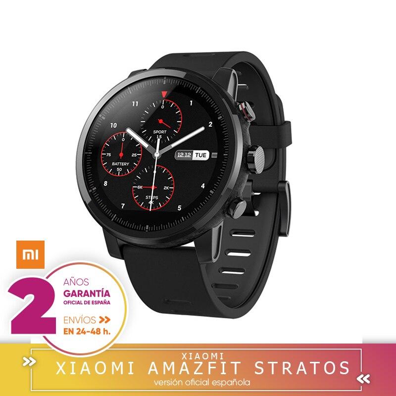 -Garantia Oficial Amazfit En España-Xiaomi Amazfit Stratos 2 Smartwatch Reloj Inteligente Deportivo con GPS Bluetooth
