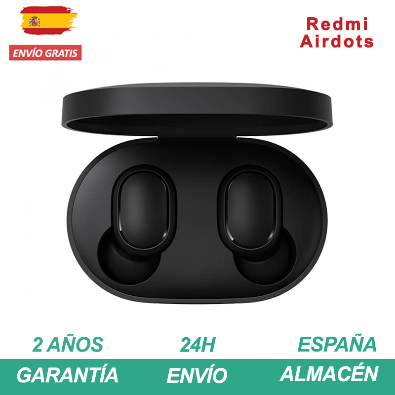 Redmi Airdots Auriculares TWS Bluetooth 5.0 Antitranspiración IPX4 Android IOS Micrófono Integral Ligero Auriculares