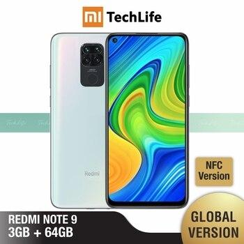 Global Version Xiaomi Redmi Note 9 3GB RAM 64GB ROM (Brand New / Sealed) redminote9, note9, Smartphone mobile
