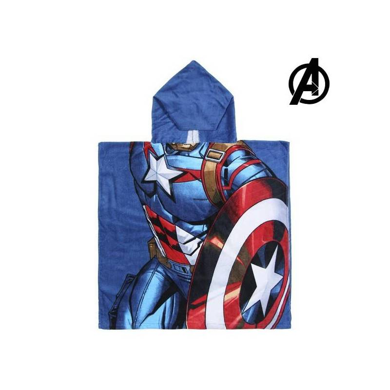 Strikeout-hooded Towel Captain America The Avengers 74171