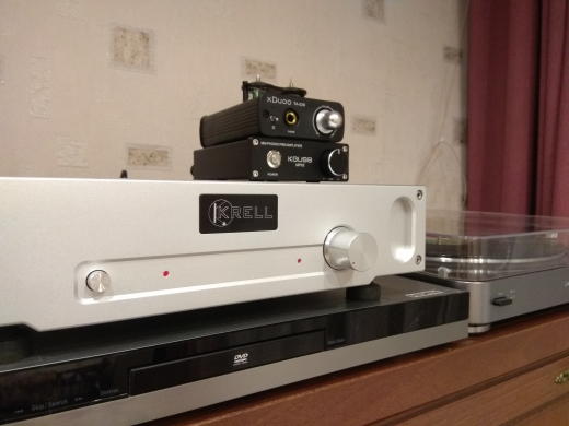 -- Pré-amplificador Record Player
