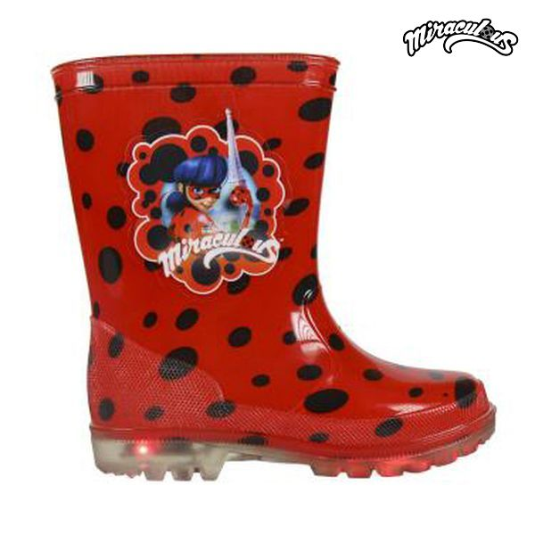 Children's Water Boots with LEDs Lady Bug 72767|  - title=