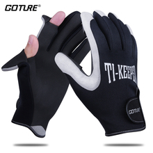 Goture Fishing Gloves Waterproof Anti-slip Durable Breathable Outdoor Sport Gloves For Winter Ice Fishing