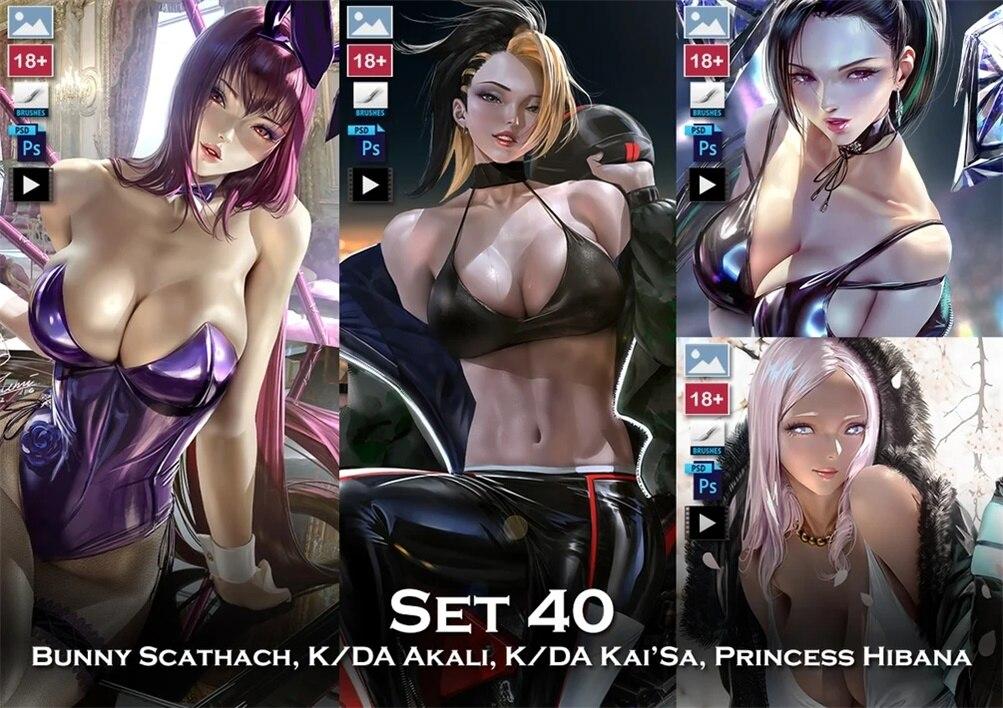 画师zumi 2020年9月set40插画作品