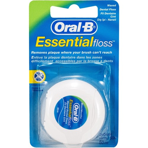 Oral B Dental Floss Essential Floss 50 m Electric Toothbrushes     - title=