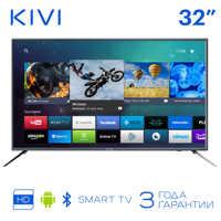 """TV de 32 """"Kivi 32h600gr HD Smart TV Android HDR 32 televisión en pulgadas digital DVB-T DVB-T2"""