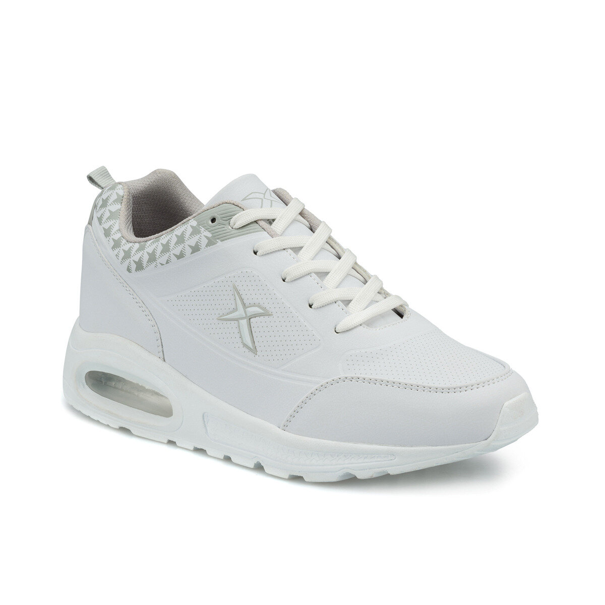 FLO T M White Men 'S Sneaker Shoes KINETIX