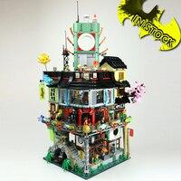 New Ninja Great Creator 70620 City Construction 06066 In stock 4953pcs Model Modular Building Blocks Toys Bricks Baby toy