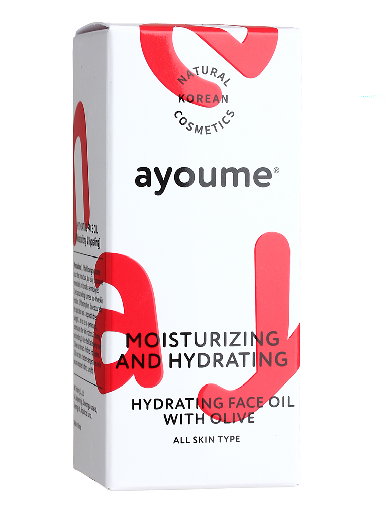 AYOUME Moisturing-&-Hydrating Face Oil With Olive 30 Ml