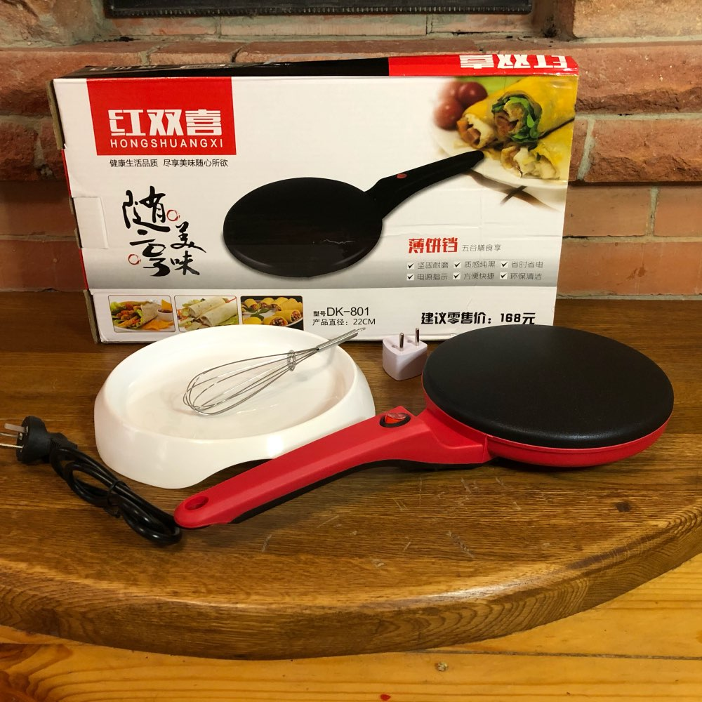 ANIMORE Electric Crepe Maker Pizza Pancake Machine Non stick Griddle Baking Pan Cake Machine Kitchen Cooking Tools Crepe|Waffle Makers|   - AliExpress