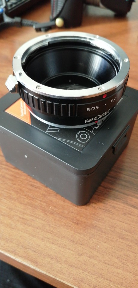 -- Conceito Eos-fx Câmera