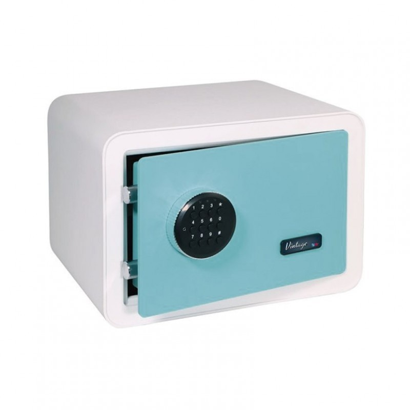 SAFE SUPERIMPOSE MODEL VINTAGE WHITE-TURQUOISE