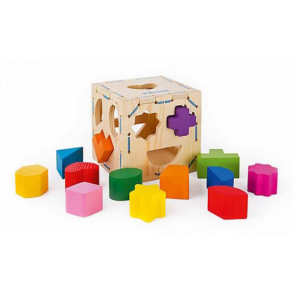 Wooden Shape Sorter Volume