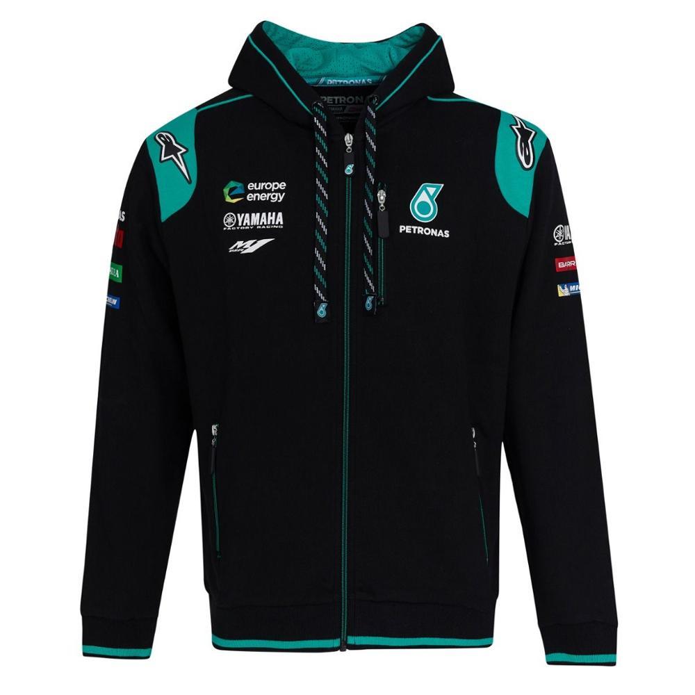 100% Original Hoodie Paddock Pitline Teamwear Motorcycle Racing Team Yamaha Petronas Men's